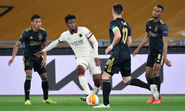 AS Roma v AFC Ajax, Europa League match Football, Rome, Italy - 15 Apr 2021
