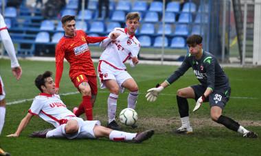 Aleksander Mitrovic, într-un meci FCSB 2 - Dinamo 2 din Liga 3 / Foto: Sport Pictures