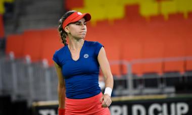 Irina Bara, în meciul cu Elisabeta Cocciaretto / Foto: Sport Pictures