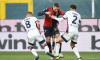 Italian football Serie A match - Genoa CFC vs Cagliari Calcio