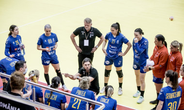 HANDBAL FEMININ:ROMANIA-MACEDONIA, PLAY-OFF CALIFICARE CAMPIONAT MONDIAL (17.04.2021)