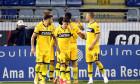 Fotbaliștii Parmei, în meciul de la Cagliari / Foto: Getty Images