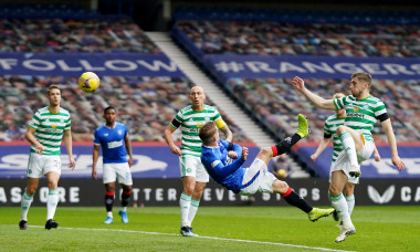 Rangers v Celtic, William Hill Scottish Cup, Fourth Round, Football, Ibrox Stadium, Glasgow, UK - 18 Apr 2021