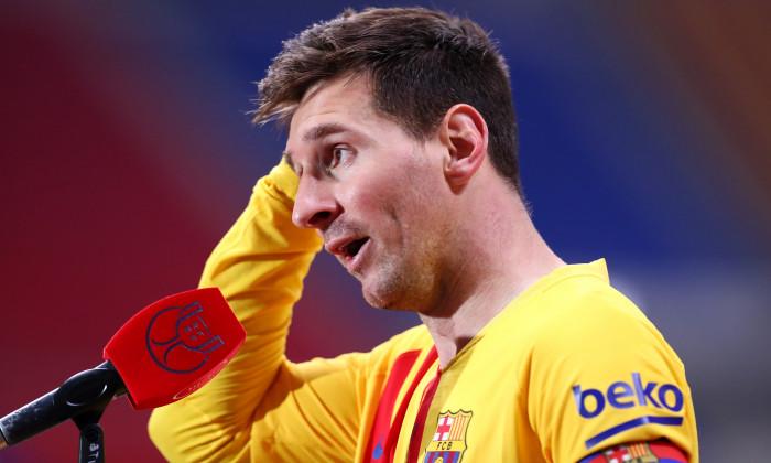 Lionel Messi, fotbalistul Barcelonei / Foto: Getty Images