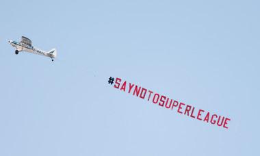 Mesaj afișat în Anglia, înainte de Leeds - Liverpool / Foto: Profimedia