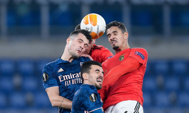 UEFA Europa League, Benfica v Arsenal, Rome, Italy - 18 Feb 2021
