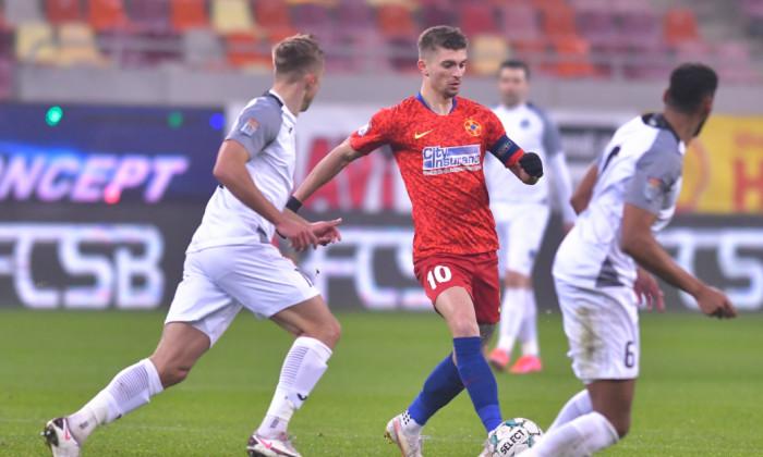 Secvență din FCSB vs. Academica Clinceni/ foto: Sport Pictures