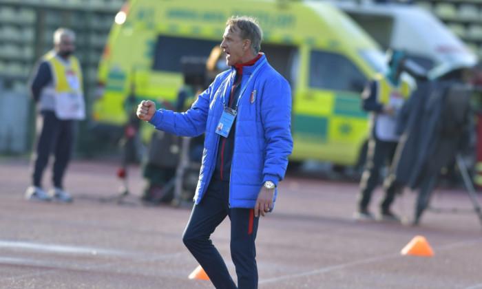 Emil Săndoi, antrenorul Chindiei Târgoviște / Foto: Sport Pictures