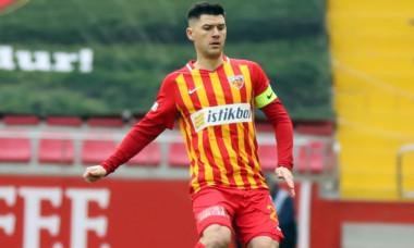 Cristian Săpunaru la Kayserispor / Foto: @Twitter KayserisporFK