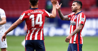 Angel Correa și Marcos Llorente, în meciul Atletico Madrid - Eibar / Foto: Getty Images