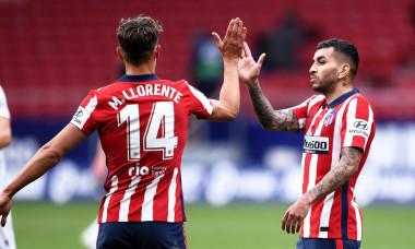 Angel Correa și Marcos Llorente, în meciul Atletico Madrid - Eibar / Foto: Getty Images