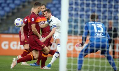 Italian Championship Serie A 2021, Soccer Match, AS Roma vs Atalanta FC, Rome, Italy - 22 Apr 2021