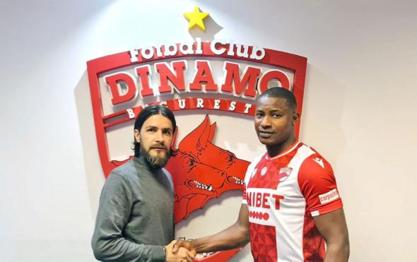 Joseph Eneojo Akpala și Mario Nicolae / Foto: FC Dinamo