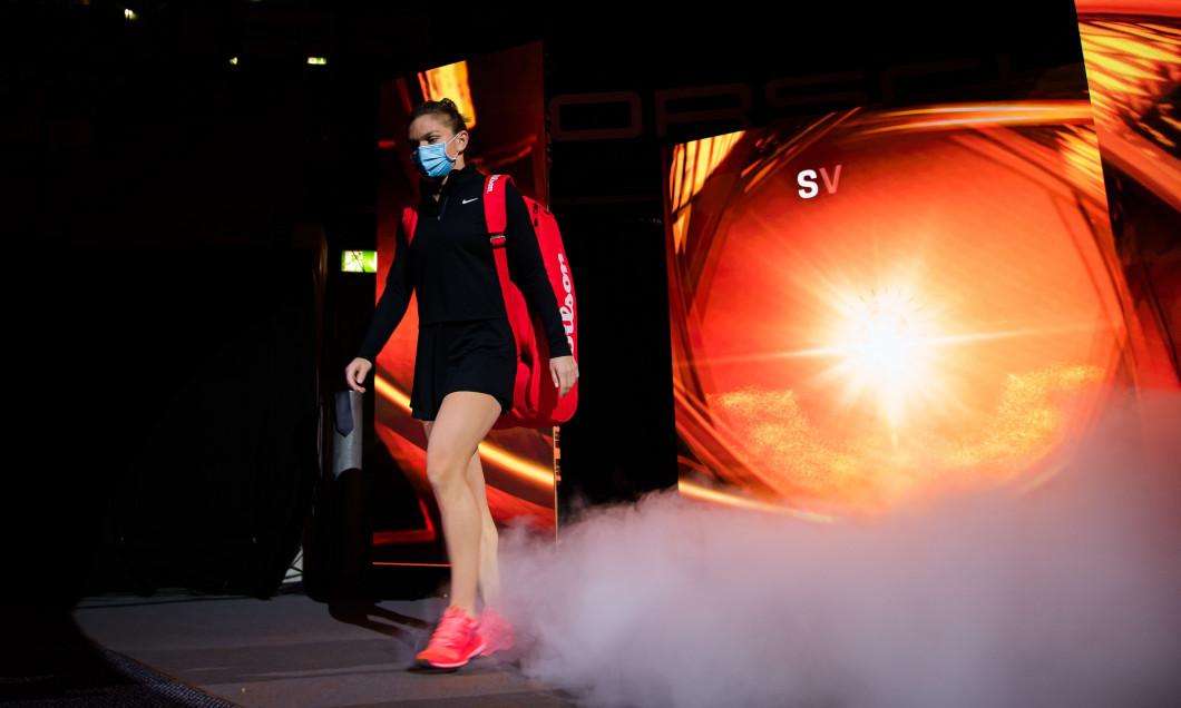 Simona Halep, în meciul cu Aryna Sabalenka / Foto: Profimedia
