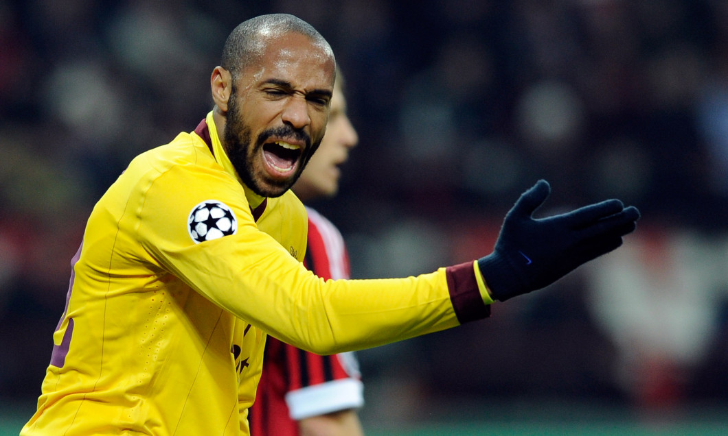 AC Milan v Arsenal FC - UEFA Champions League Round of 16