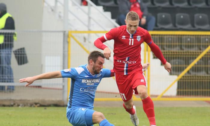 Mihai Roman, într-un meci Academica Clinceni - FC Botoșani / Foto: Sport Pictures