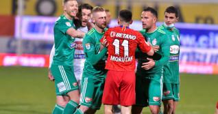 Scandal la finalul meciului FCSB - Sepsi 1-2 / Foto: Sport Pictures