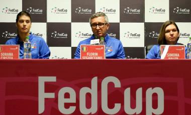 TENIS: CONFERINTA DE PRESA ROMANIA, FED CUP, ROMANIA - ELVETIA (