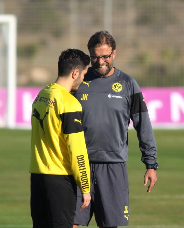 Borussia Dortmund Training Camp at La Manga Club, Spain - 11 Jan 2015