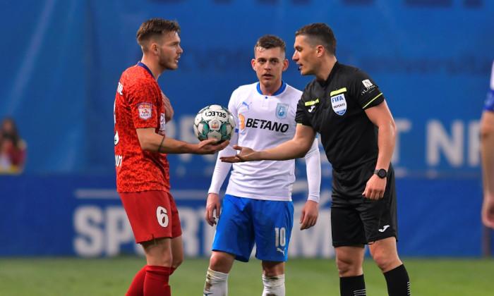 Istvan Kovacs, în meciul Universitatea Craiova - FCSB / Foto: Sport Pictures