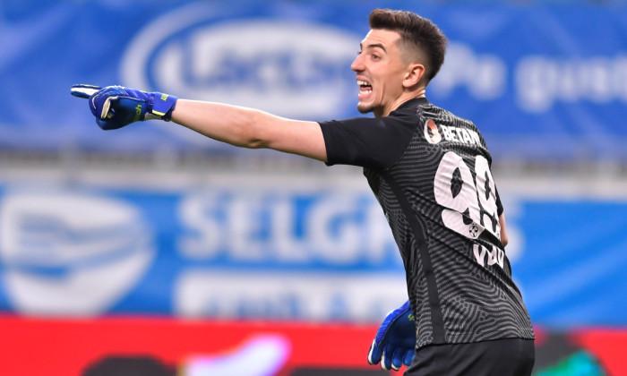 Andrei Vlad, în meciul Universitatea Craiova - FCSB / Foto: Sport Pictures
