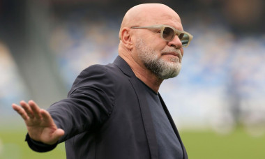 Napoli, Italia. 03rd Apr, 2021. Serse Cosmi coach of FC Crotone reacts during the Serie A football match between SSC Napoli and FC Crotone at Diego Armando Maradona stadium in Napoli (Italy), April 03, 2021. Photo Cesare Purini/Insidefoto Credit: insidefo
