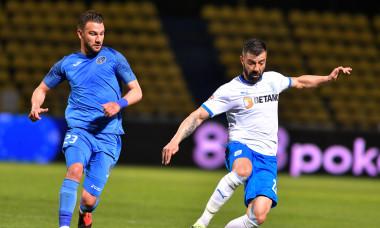 Marius Constantin, în meciul Academica Clinceni - Universitatea Craiova / Foto: Sport Pictures