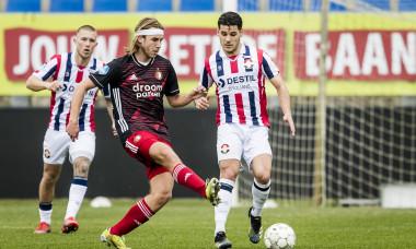 Splinter de Mooij, într-un meci Willem - Feyenoord / Foto: Profimedia