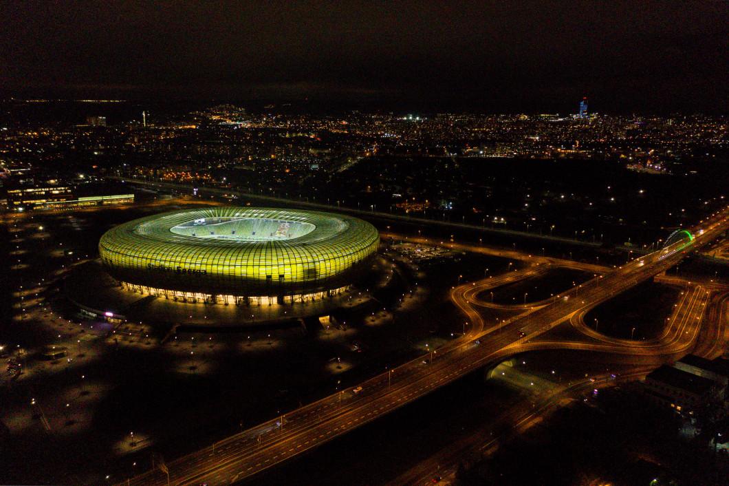 Energa Stadium in Gdansk, Poland - 30 Nov 2020