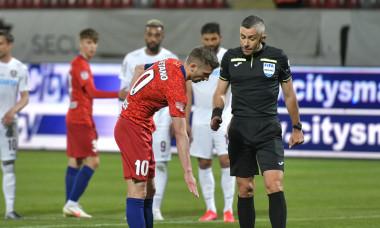 Florin Tănase și Radu Petrescu, în meciul FCSB - CFR Cluj / Foto: Sport Pictures