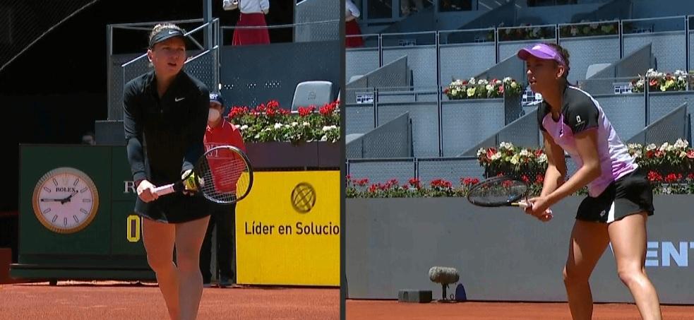 Simona Halep - Elise Mertens 6-4, 5-7, 5-7. Ce luptă! Belgianca e în sferturi la Madrid după un meci dramatic, de aproape 3 ore