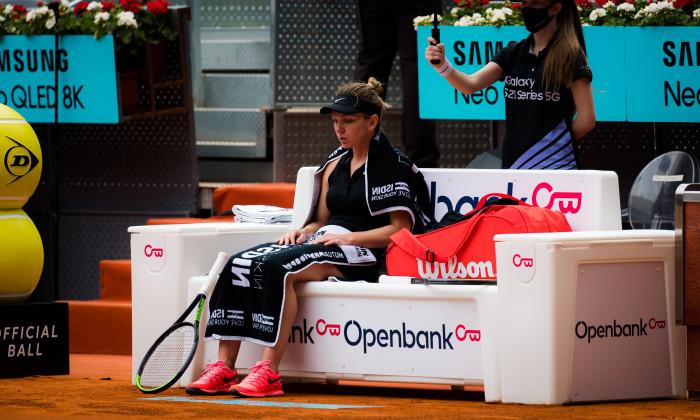 Mutua Madrid Open, Tennis, La Caja Magica, Madrid, Spain - 02 May 2021