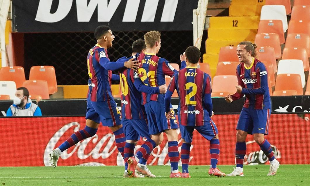 Spanish football La Liga match, Valencia CF vs FC Barcelona, Valencia, Spain - 02 May 2021