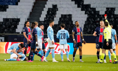Paris Saint Germain v Manchester City, UEFA Champions League, Semi Final, First Leg, Football, Parc Des Princes, Paris, France - 28 Apr 2021