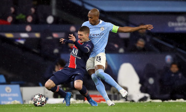 Manchester City v Paris Saint-Germain - UEFA Champions League - Semi Final - Second Leg - Etihad Stadium