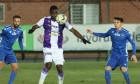 Ion Gheorghe și Cephas Malele, într-un meci FC Voluntari - FC Argeș / Foto: Sport Pictures