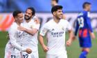Isco, alături de Lucas Vazquez și Marcos Asensio, într-un meci Real Madrid - Eibar / Foto: Getty Images