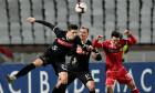 Jordan Mustoe, într-un meci Poli Iași - Dinamo / Foto: Sport Pictures