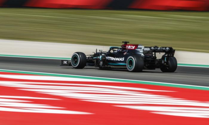 F1 Spanish Grand Prix, Practice, Circuit de Barcelona-Catalunya, Barcelona, Spain - 07 May 2021