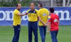 Ionuț Badea, în perioada în care era în staff-ul echipei naționale / Foto: Sport Pictures