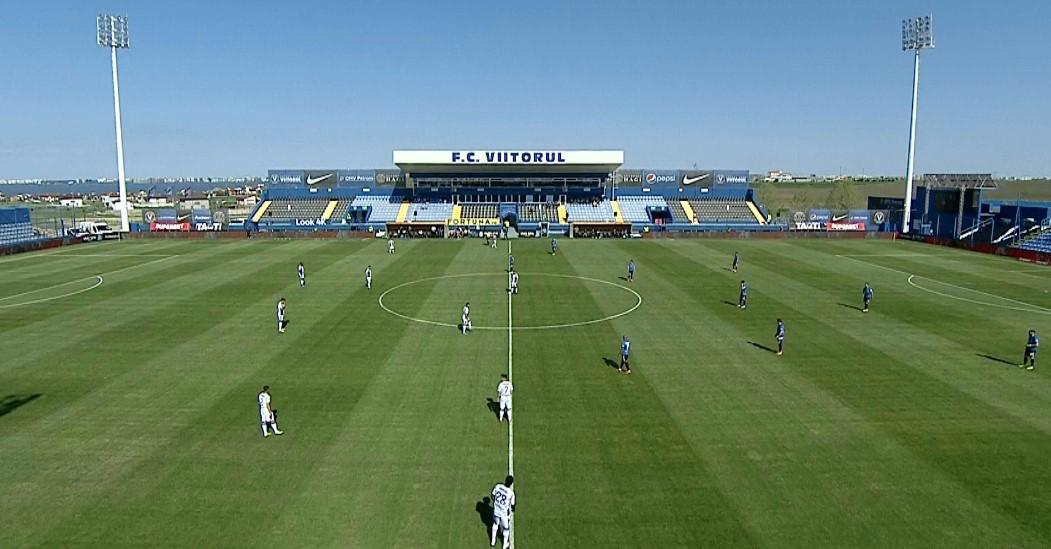 Viitorul – FC Argeș 0-0, ACUM pe Digi Sport 1. Echilibru în prima jumătate de oră de la Ovidiu