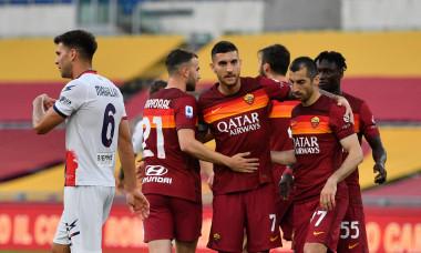 Italian football Serie A match - AS Roma vs FC Crotone, rome, Italy