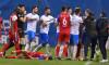 Incident în timpul meciului Universitatea Craiova - FC Botoșani / Foto: Sport Pictures