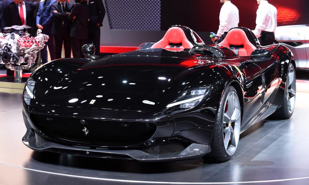 Ferrari Monza SP2, noua achiziție a lui Cristiano Ronaldo / Foto: Profimedia