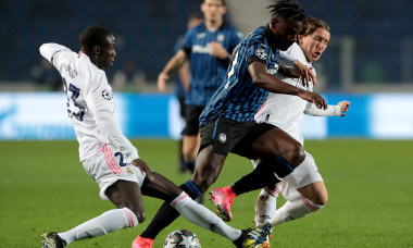 Atalanta v Real Madrid - UEFA Champions League Round Of 16 Leg One