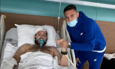 Alexandru Ciorniciuc, alături de Robert Moldoveanu / Foto: Facebook@Robert Moldoveanu