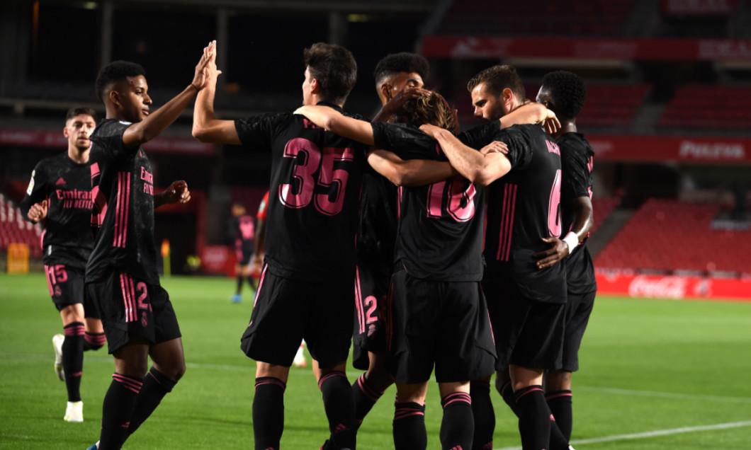 Luka Modric a deschis scorul pentru Real Madrid în meciul cu Granada / Foto: Getty Images