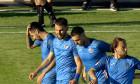 Fotbaliștii de la Academica Clinceni, în meciul cu FC Botoșani / Foto: Captură Digi Sport