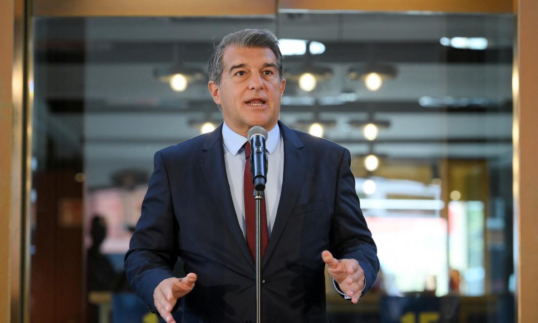 Joan Laporta, președintele Barcelonei / Foto: Profimedia