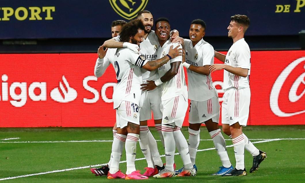 Cadiz CF v Real Madrid, LaLiga Santander, date 31. Football, Ramon de Carranza Stadium, Cadiz, Spain - 21 APR 2021
